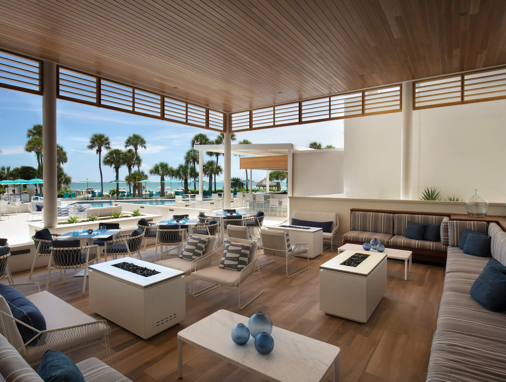 The all-new Banyan Poolside lounge